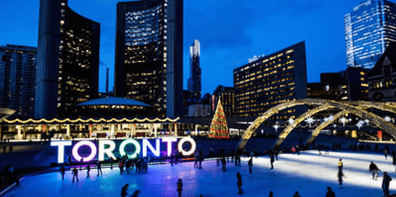 Mentora Language Academy Toronto is located near Nathan Phillips Square